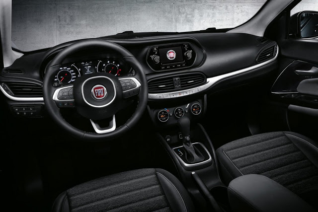Interior do Fiat Aegea