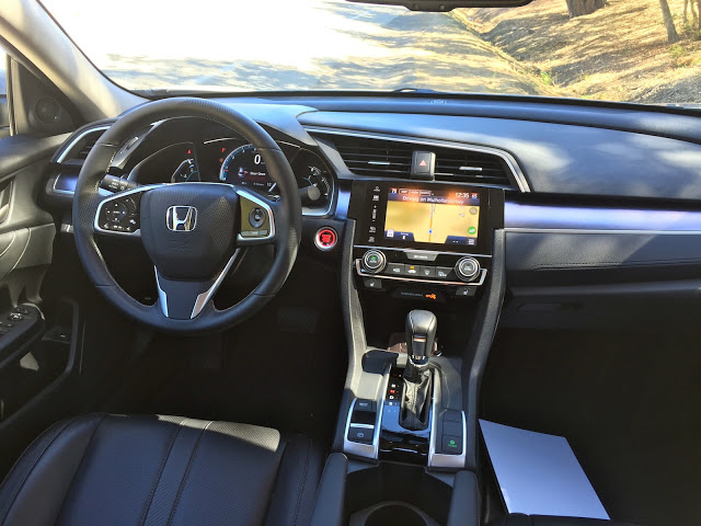 Novo Civic 2017 Interior