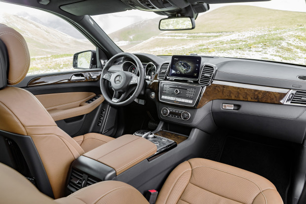 Mercedes GLE 350d 2016 Interior