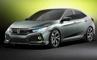 Novo Civic Hatch 2017